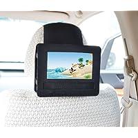 Auto Kopfstützenhalterung für 7 Zoll DVD-Player mit Neigungs- und Schwenkfunktion Kfz Halterung Kopfstütze - von TFY