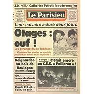 PARISIEN LIBERE (LE) [No 12404] du 03/08/1984 - LEUR CALVAIRE A DURE 2 JOURS - LES ETRANGETES DE TEHERAN - COMMENT...