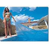 Blue Wave 16-Feet x 32-Feet Rectangular 12-mil Solar Blanket for In Ground Pools, Blue