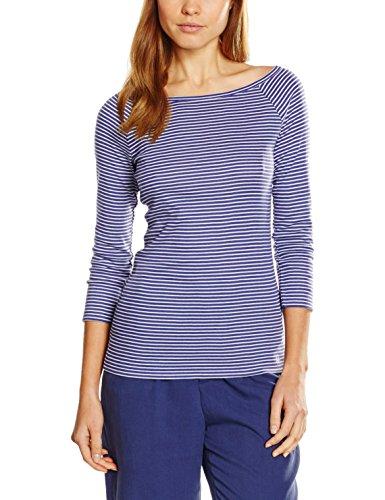 benetton-damen-3c4se1h52-t-shirt-violett-purple-stripe-suk