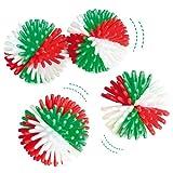 Christmas Hedgehog Balls Perfect Stocking Filler for Children (Pack of 6)