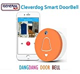 General AUX Cleverdog Dang-Dang Smart Doorbell (Orange)