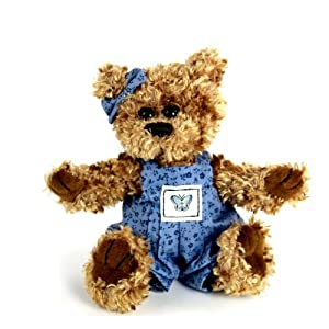 "Purr-Fection Baby Mariah Timeless Treasure Bear 6"" Plush"