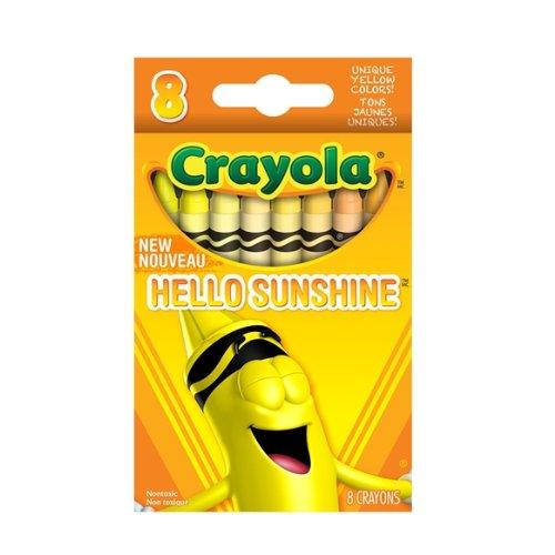 Crayola Hello Sunshine Crayons 8 count (221508) - 1