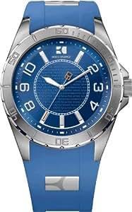 Boss Orange Herren-Armbanduhr XL Analog Quarz Silikon 1512810