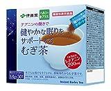 (機能性表示食品) 伊藤園 テアニンの働きで健やかな眠りをサポートするむぎ茶スティック 1.4g×30本