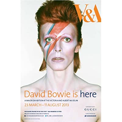 David Bowie Is Exhibition Poster ||EVAEX