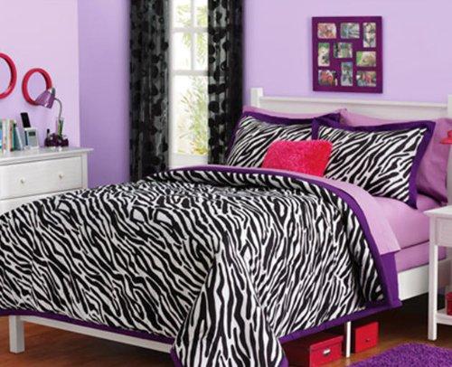 Purple Zebra Bedding: Zebra Bedding For Girls