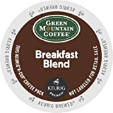Keurig, Green Mountain Coffee, Breakfast Blend, 50 K-Cup Portion Packs, Net Wt. 15.6 Oz
