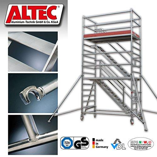 AM-Treppenturm-Arbeitshhe-63-m-gleichlaufend-aus-Aluminium-fahrbar-Rollgerst-Fahrgerst-Fluchttreppe-Arbeitsbhne-Gerstturm-Universalgerst-Schrgaufstieg-Treppengerst