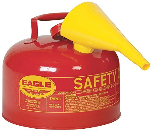 Type 1 Safety Gas Can (Eagle 2 Gallon Gas Can compare prices)