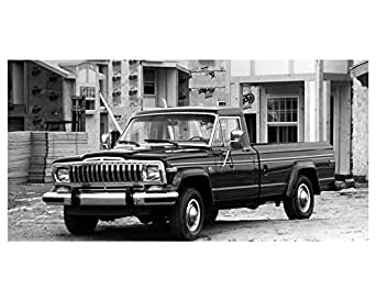 1988 Jeep J10 Pickup Truck Factory Photo at Amazon's Entertainment