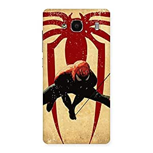 Hanging Web Back Case Cover for Redmi 2s