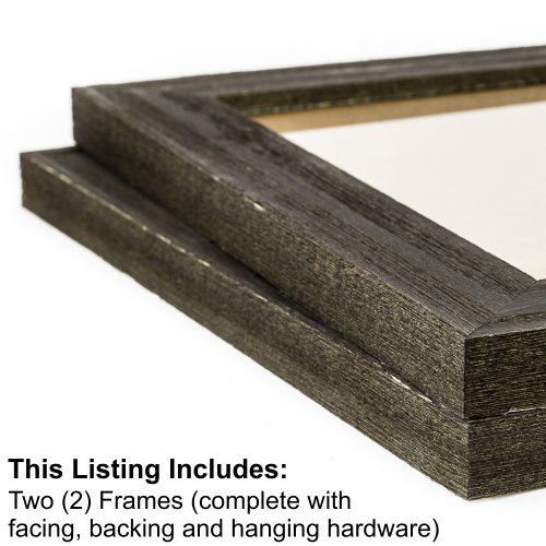 Craig-Frames-Multi-Piece-Picture-Frame-Set-Style-and-Size-Options-Black