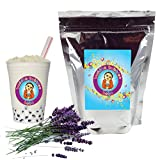 Lavender Boba/Bubble Tea Powder By Buddha Bubbles Boba 10 Ounces (283 Grams) (Tamaño: 10 Ounces (283 Grams))