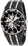 Bulova Mens 98A108 Marine Star Mechanical Hand-Wind Automatic Black Dial Watch