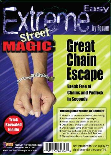 Forum Novelties Extreme Street Magic - Great Chain Escape Trick - 1