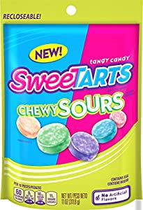 SweeTARTS Chewy Sours Resealable Bag, 11 Ounce