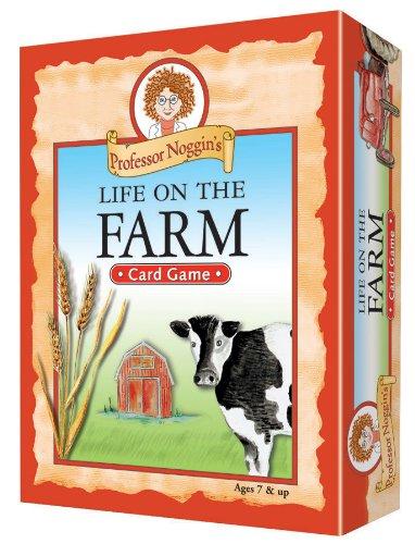 Educational Trivia Card Game - Professor Noggin's Life on the Farm