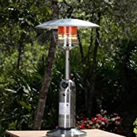 Fire Sense Propane Table Top Patio Heater-p by FIRE SENSE