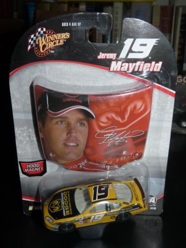 Jeremy Mayfield #19 2005 Top Banana Dodge Charger See YOur Local Dodge Dealer 1/64 Scale Diecast & Bonus Mayfield Photo Magnet Hood Winners Circle - 1