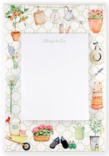 The Stupell Home Decor Collection Decorative Garden Themed Memo Board