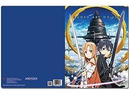 Sword Art Online Asuna and Kirito Pocket File Folder