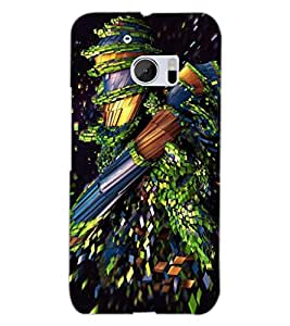PRINTSWAG NEW ERA DESIGN Designer Back Cover Case for HTC 10