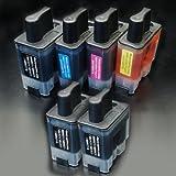 【むさしのメディアオリジナル】 ブラザー互換 LC09-4PK+BK2 4色+黒2個インクカートリッジ [フラストレーションフリーパッケージ(FFP)]