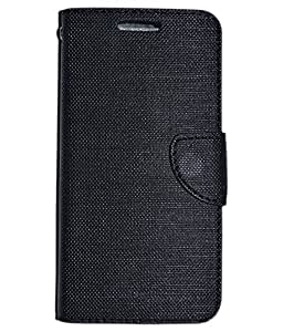 Colorcase Flip Cover Case for Infocus M810 - Black
