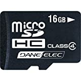 Dane-Elec Micro SD High Capacity (MICRO SD-HC) Memory Card - 16GB - Class 4by Dane-Elec
