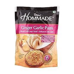 Dabur Hommade Masala Paste - Ginger Garlic, 200g Pouch