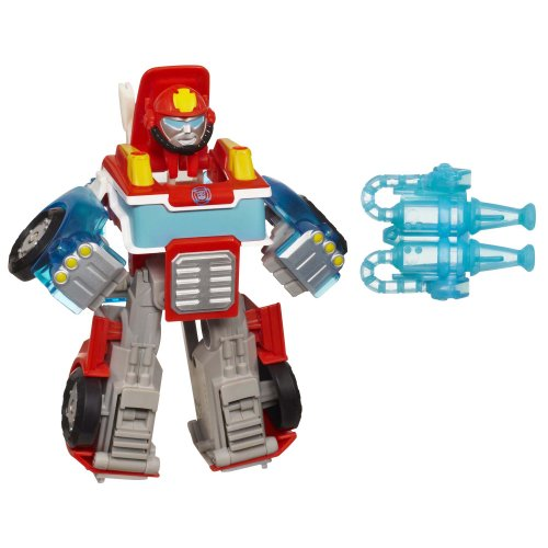 Playskool Heroes Transformers Rescue Bots Energize Heatwave the Fire-Bot Figure - 1