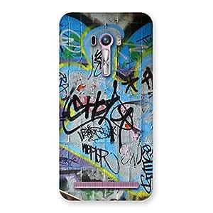 Cute Random Art Multicolor Back Case Cover for Zenfone Selfie