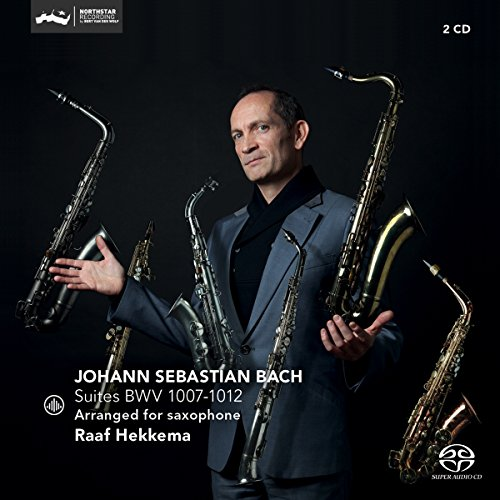 SACD : BACH,J.S. / HEKKEMA - Suites Bwv (2 Discos)