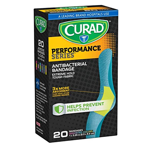 curad-performance-series-extreme-hold-antibacterial-fabric-bandages-1-x-325-20-count