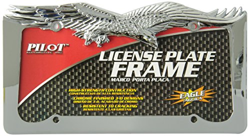 Bully WL108-C Eagle License Plate Frame - Chrome (Eagle License Plate Frame compare prices)