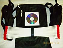 Speed Agility Ladder 22 Feet Long + Carry Bag + Speed Drill Dvd, Training Sports Equipment,