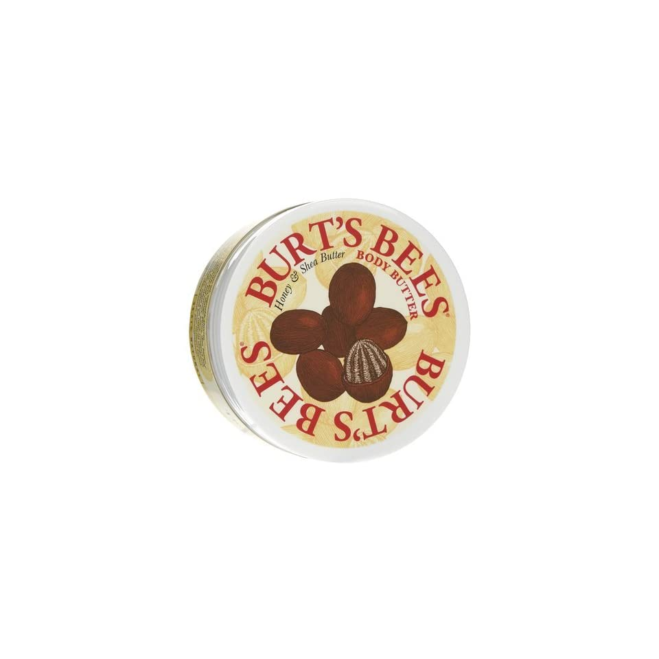 Burts Bees Thoroughly Therapeutic Honey & Shea Butter Body Butter 6.6 oz. (Quantity of 3)