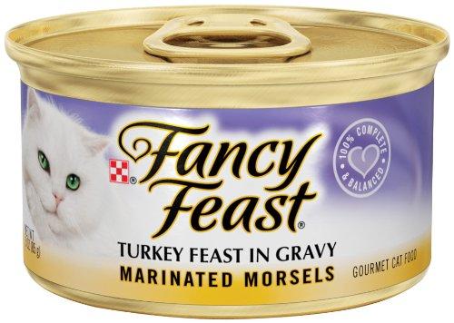Fancy Feast Marinated Morsels Turkey Feast In Gravy
