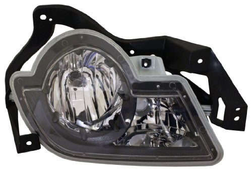 Discount Starter And Alternator Gm2592141 Chevrolet Avalanche Driver Side Replacement Fog Light Plastic Lens With Bulbs