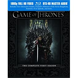 Game of Thrones: The Complete First Season [Blu-ray]