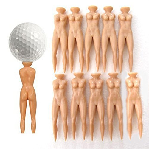 Nuddie-Golf-Tees-Naked-Lady-Nude-Woman-Figure-Set-of-20-Pieces