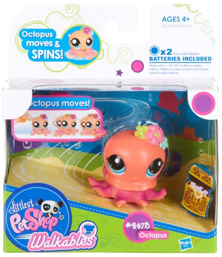 Littlest Pet Shop Walkables Figure #2473 Octopus - 1