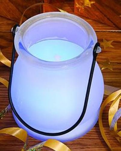 Colour Changing Candle Lantern