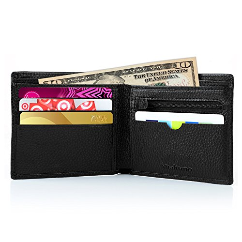 Rfid Wallet, Vitalismo RFID Blocking Wallet Travel Bifold Credit Card Holder (Change Debit Card Number compare prices)