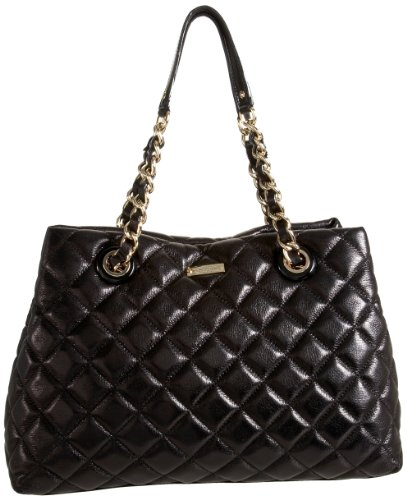 Kate Spade New York Women's Gold Coast Marryanne PXRU2289 Shoulder Bag,Black,One Size