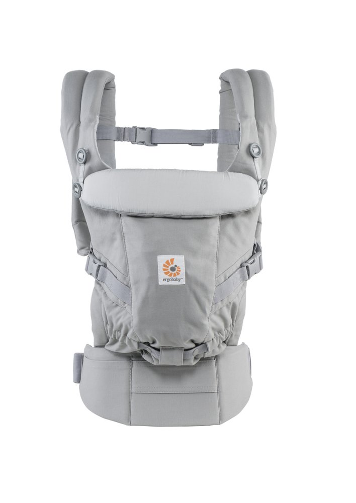 ERGObaby Adapt 3 Position Baby Carrier, Pearl Grey