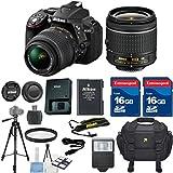 Nikon D5300 DSLR Camera Body w/ Nik