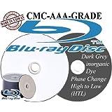 50 x Pidata AAA-CMC Blu-ray Disc (HTL with Dark Inorganic Dye) - 50 x BLU RAY RECORDABLE DISC DISK BD-R - 25GB 4x - white - ink jet printable surface, printable inner hub - storage media; -EAN/UPC 806473381017